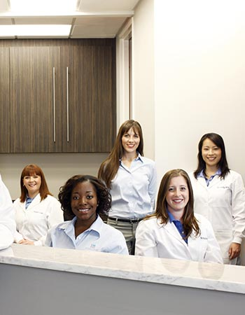 Treatment coordinators - dental team.